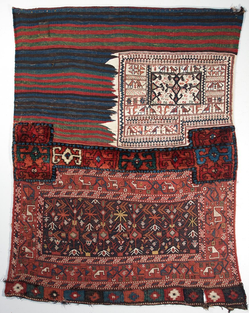 Mixed Technqiue South Persian Bag