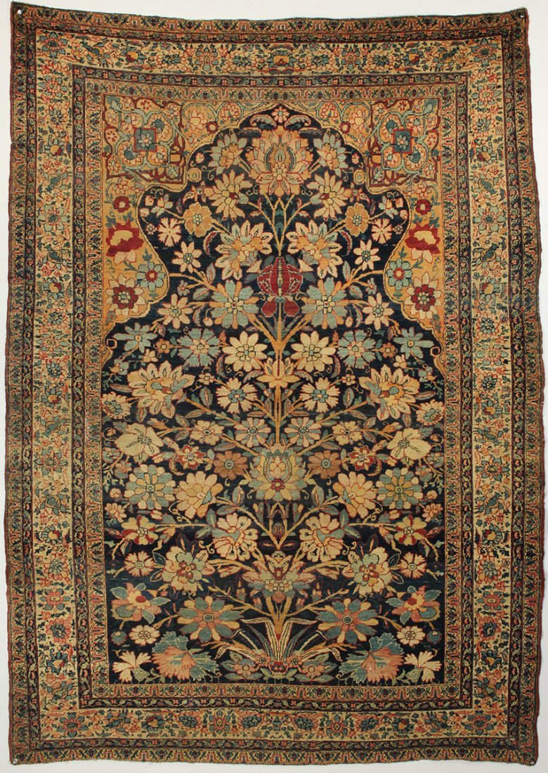 Kirman Shah Tree of Life rug