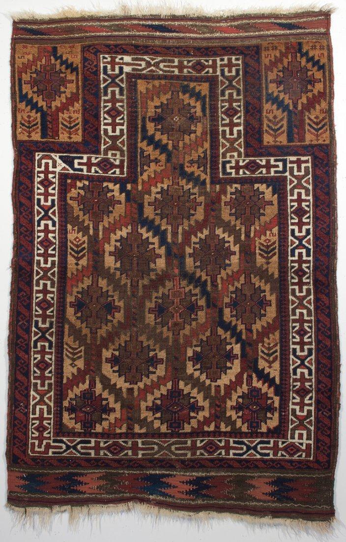 Timuri Baluch Prayer Rug