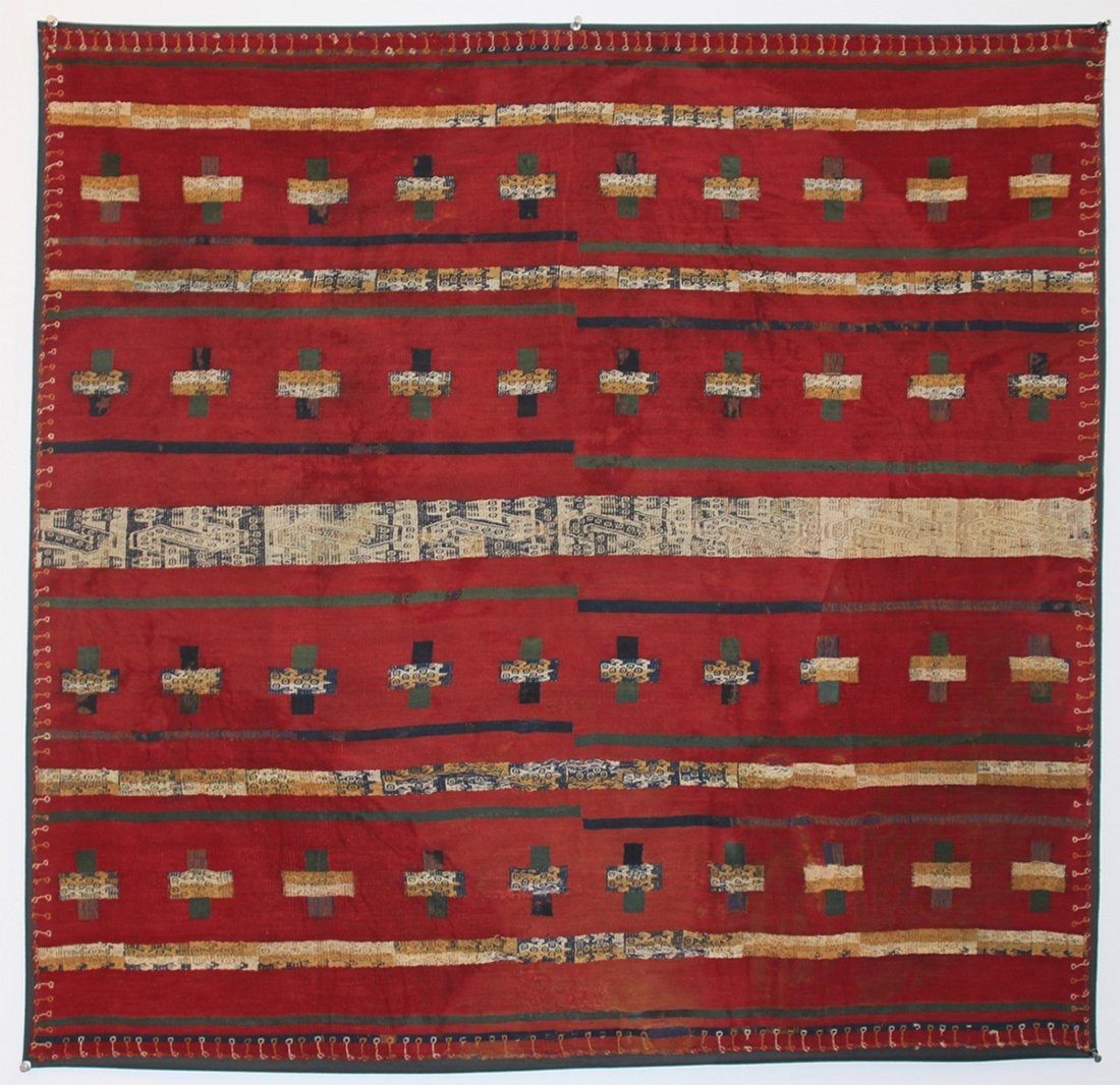 Royal Inca Textile Panel (Mounted)