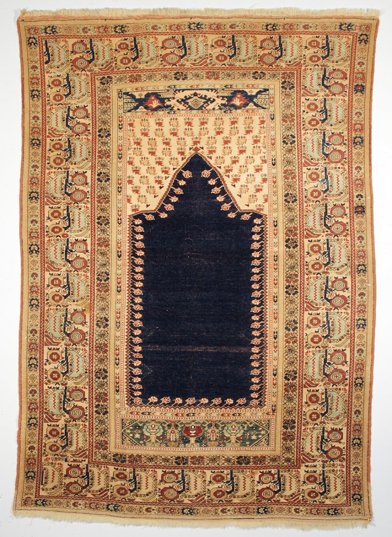 Anatolian Gurdiz Prayer Rug