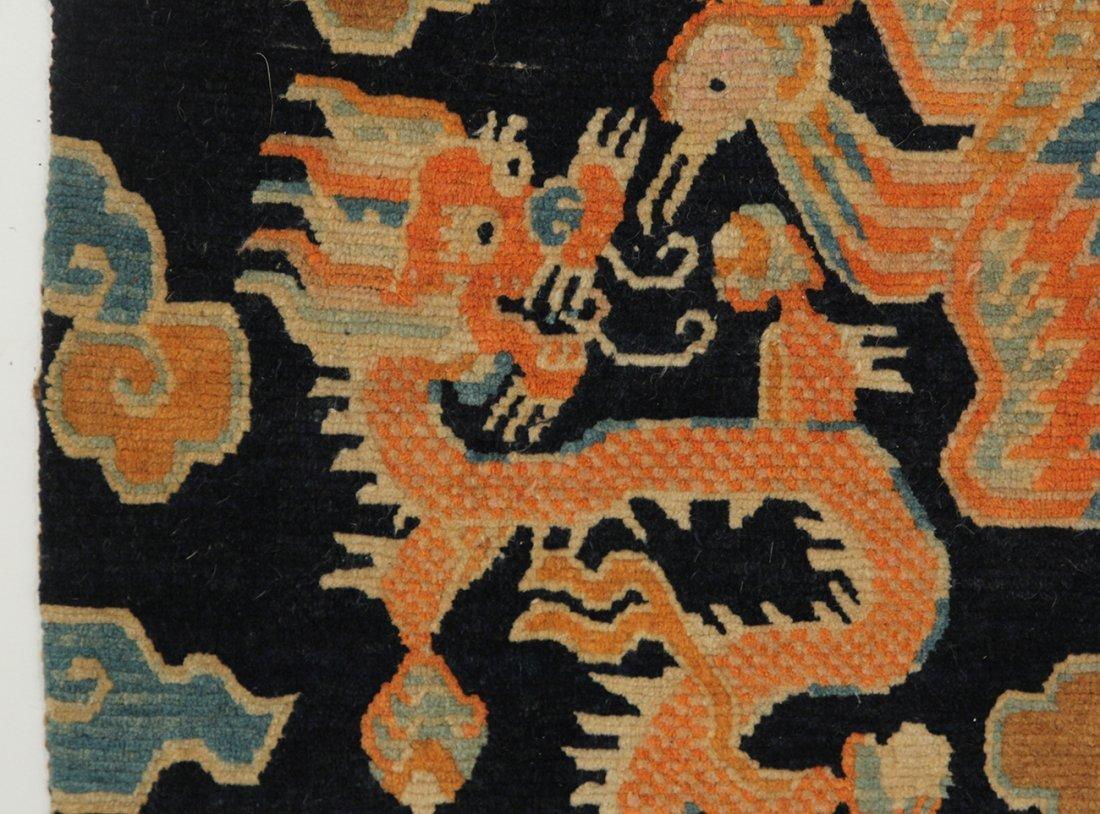 Tibetan Dragon Rug - 4