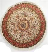 Circular Part Silk Tabriz