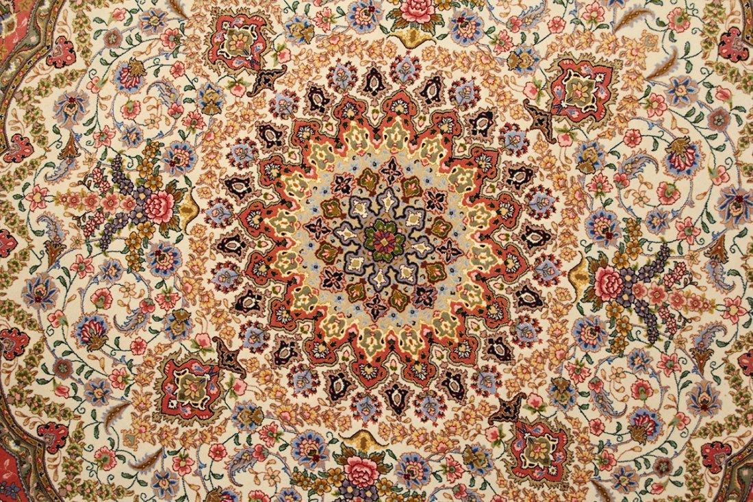 Circular Part Silk Tabriz - 2