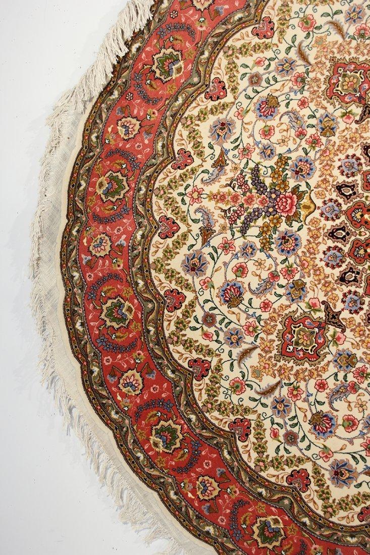Circular Part Silk Tabriz - 3