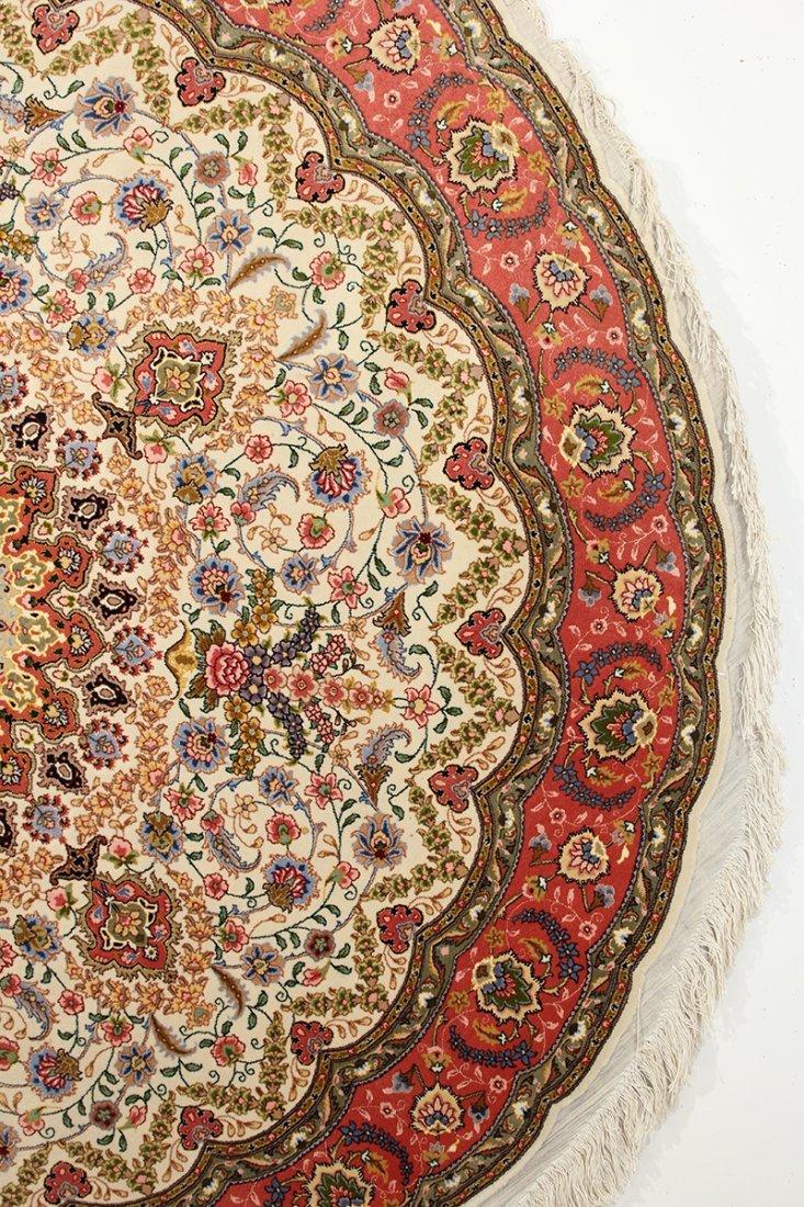 Circular Part Silk Tabriz - 4