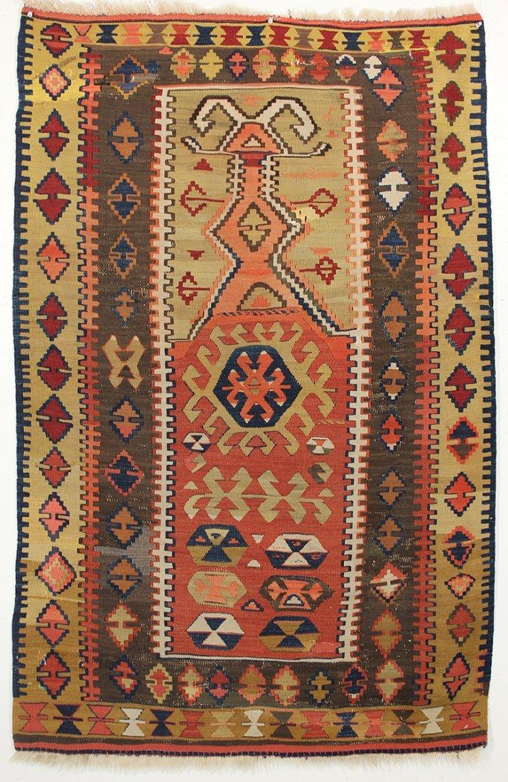 Anatolian Obruk Prayer Rug