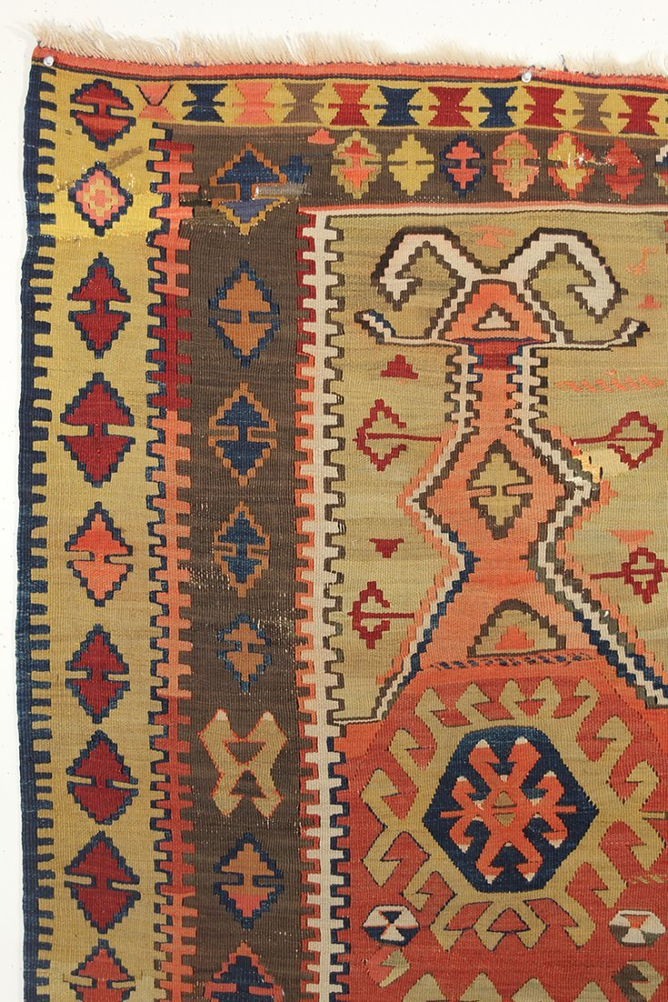 Anatolian Obruk Prayer Rug - 2