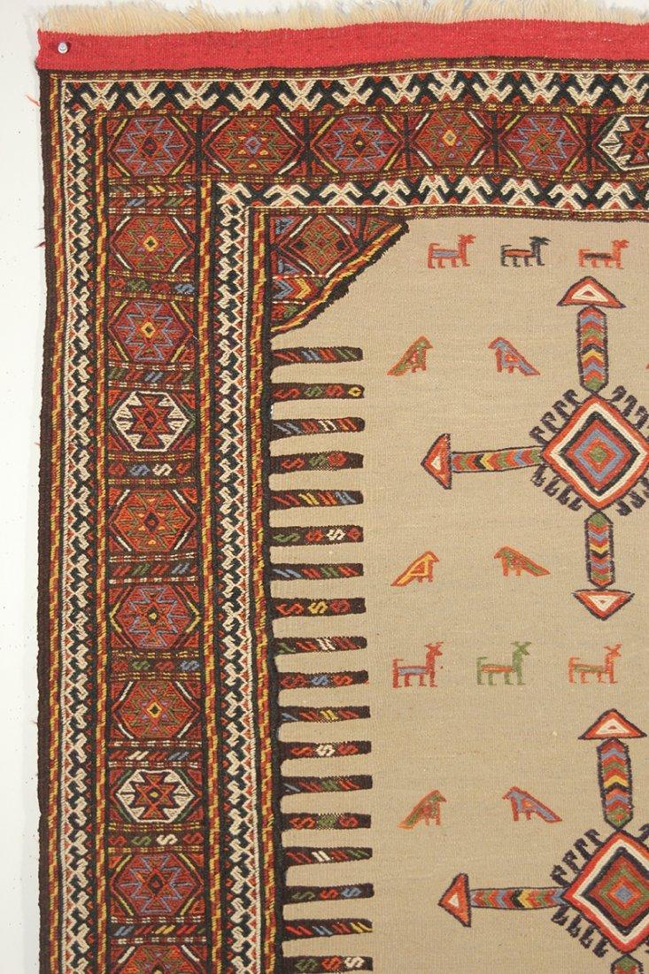 Kurdish  Camel Hair Sofreh - 2
