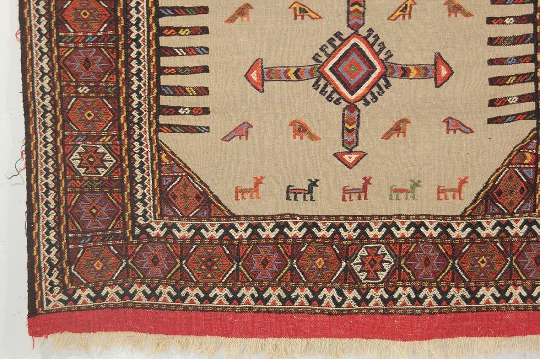 Kurdish  Camel Hair Sofreh - 3