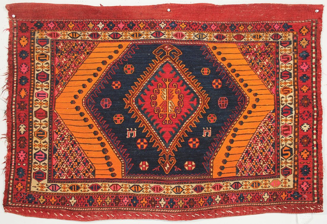 Azerbaijan Sumac Bag Face