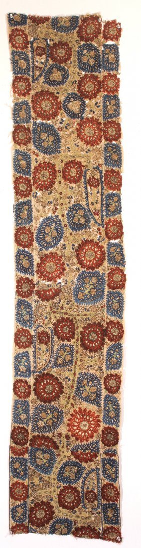 2 18th century Ottoman Fragment textiles