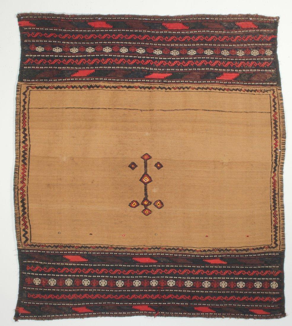 Camel Hair Baluch Sofreh Rug