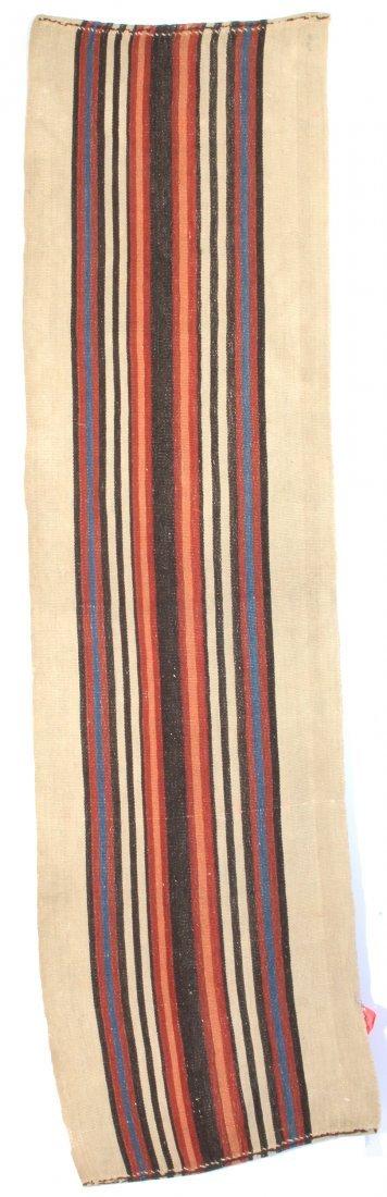 Shahsavan Stripe Panel flat weave Rug