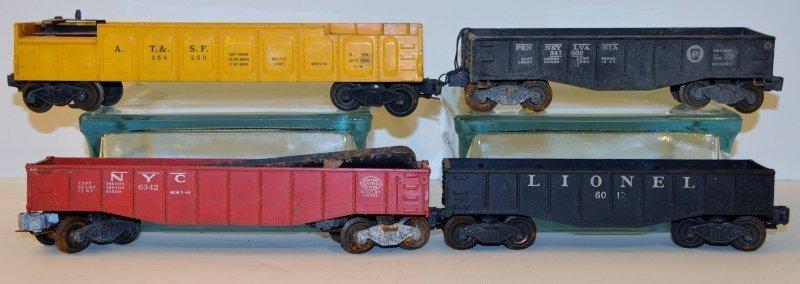 "Lionel 6342 Culvert Gondola Car, 356250 ""ATSF"" OPERATIN"