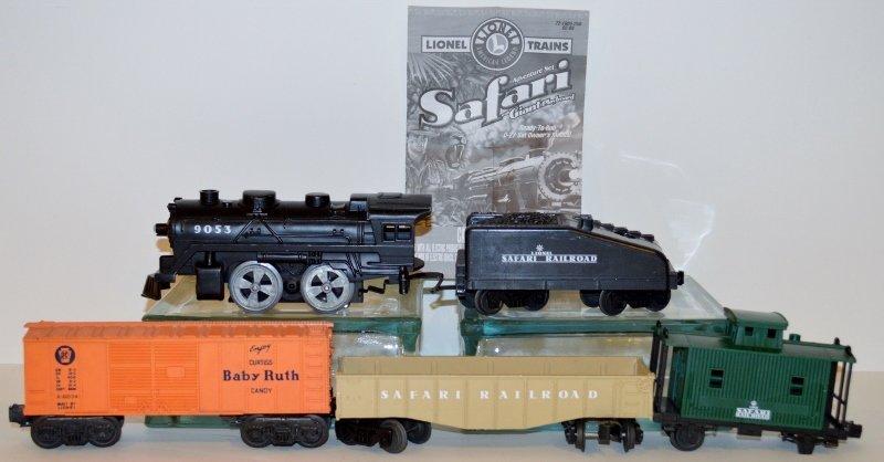 Lionel Safari Adventure Train Set O-Scale 7-21904
