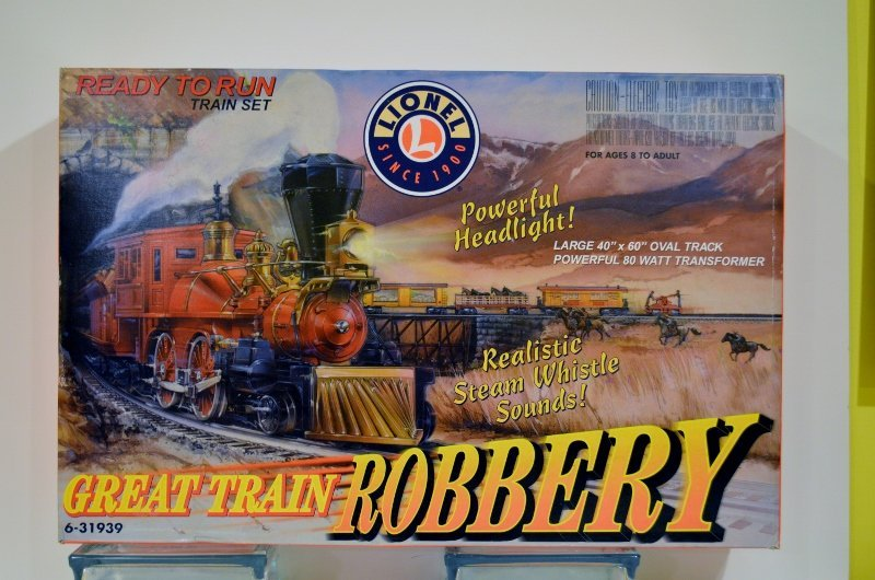 Lionel 6-31928 Great Train Robbery Pony Express Train S