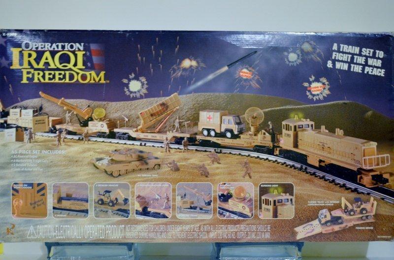 Rail King Operation Iraqi Freedom Train Set Complete