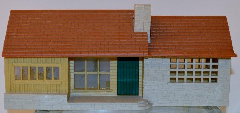 Plasticville O-Scale 1960 House RARE version Kit