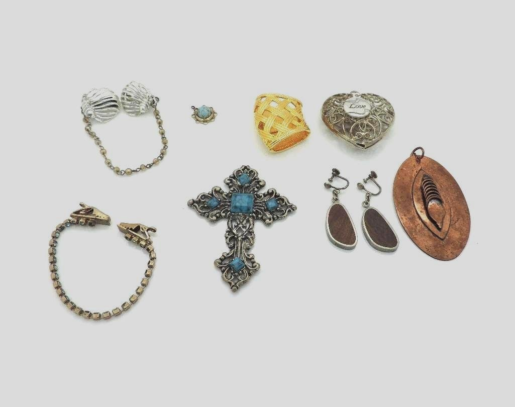 MIXED VTG JEWELRY