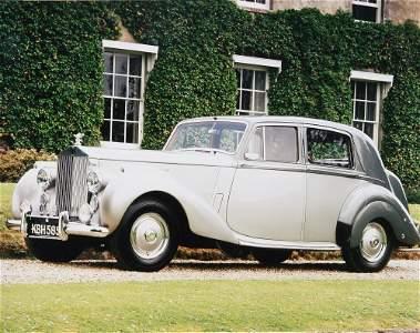 1951 ROLLS ROYCE SILVER DAWN, short boot model, 4.25 li