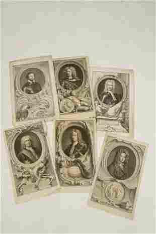 """AFTER SIR GODFREY KNELLER (1646-1723) """"Charles Mordaunt"""