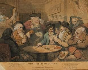 "AFTER THOMAS ROWLANDSON (1756-1827) ""Smithfield Sharper"