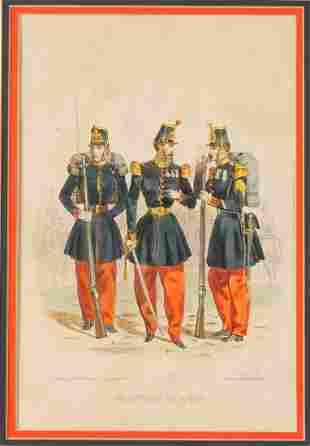 "FRENCH SCHOOL ""Imperiale-Regts de Voltigeurs"", publishe"