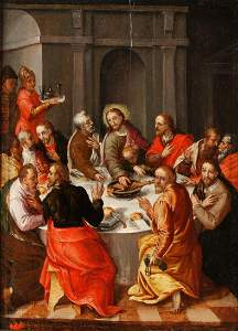 CIRCLE OF HANS VON AACHEN (1552-1615) The Last Supper,