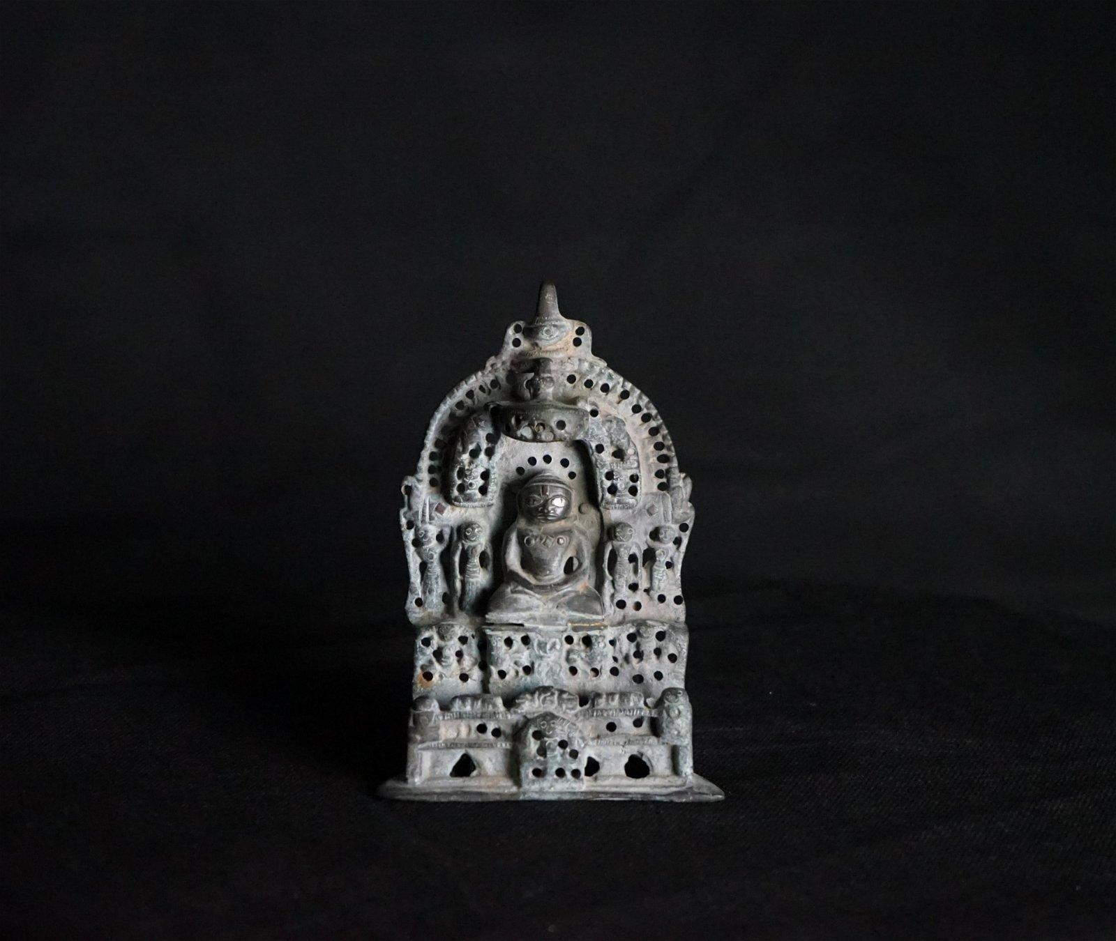 A Nice Old Bronze Jain Hindu / Buddhist Figure