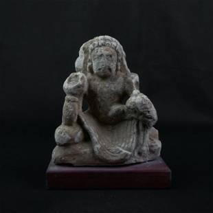 A Fine Gandharan Stucco Sculpture