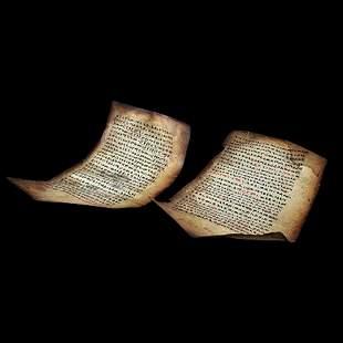 Old Coptic MANUSCRIPT