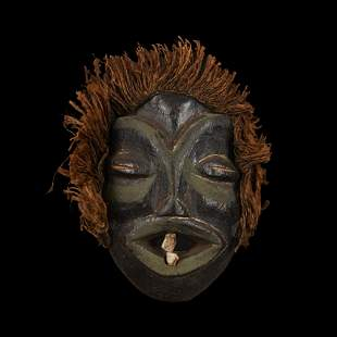 African Wooden Mask