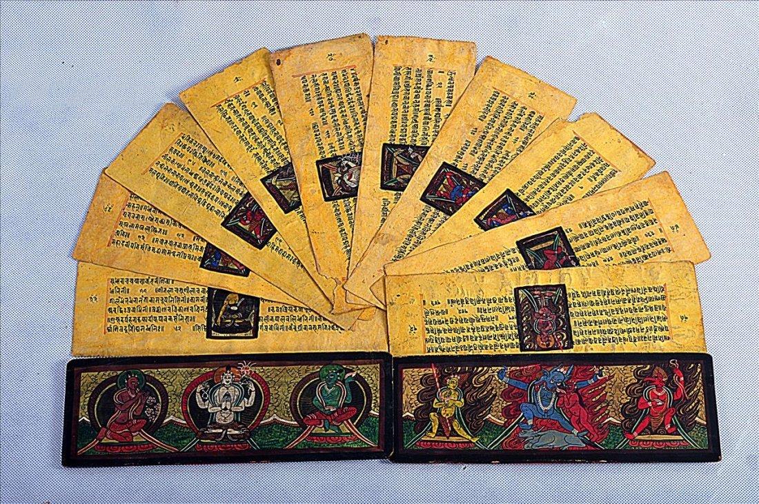 RARE AND OLD SINO-TIBETAN BUDDHIST MANUSCTIPT