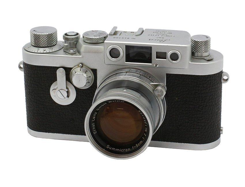 IIIg with Summicron 2/5cm, Serial no. 845100
