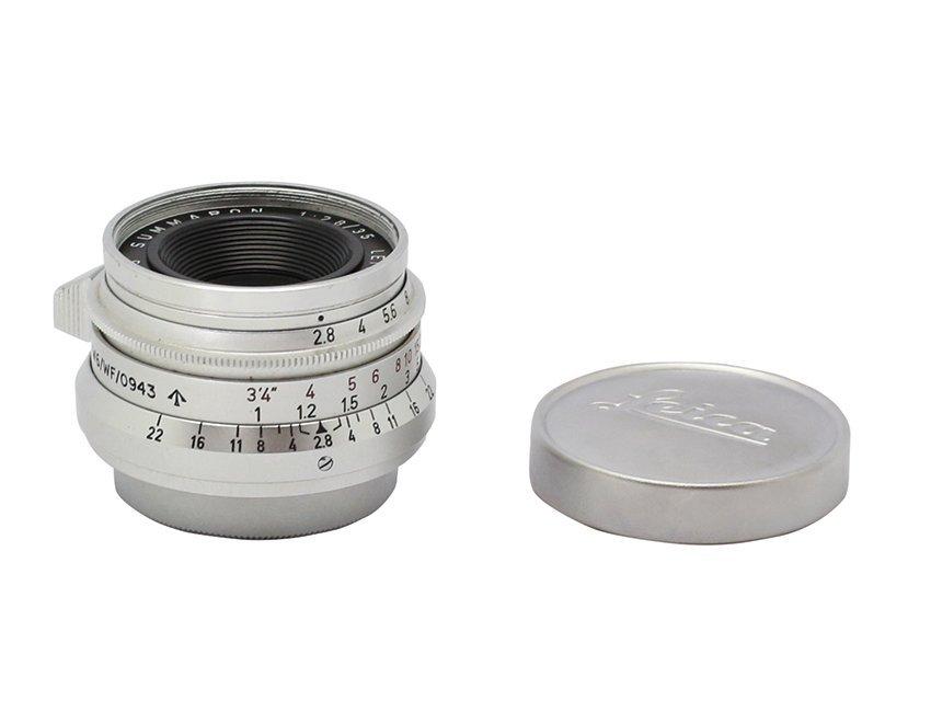 Summaron SM 2.8/35mm, Serial no. 1695185