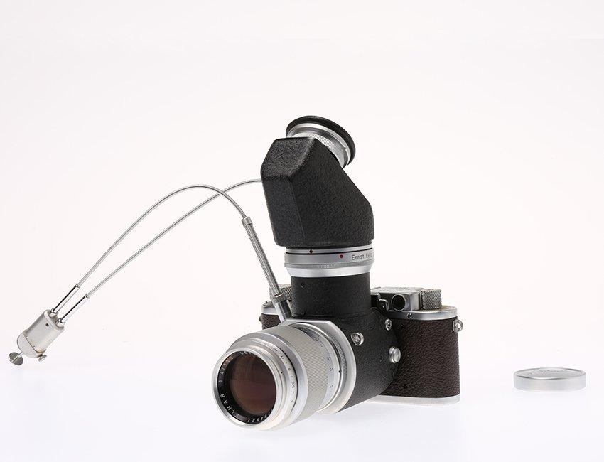 III Mod.f Chrome Visoflex I with PEGOO Magnifier