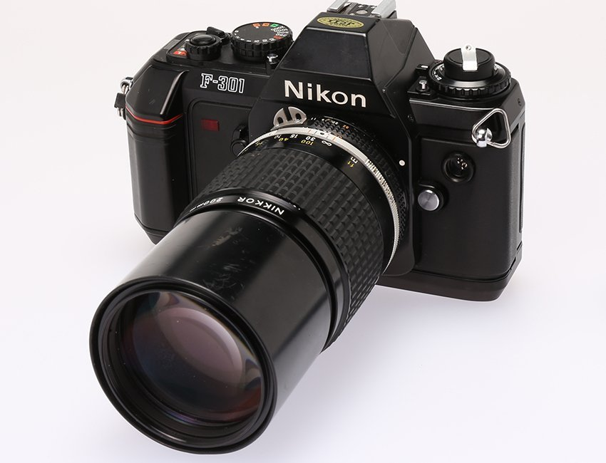 Nikon F301 #2997952
