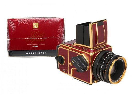 Hasselblad 503CW Gold Supreme Red Gold Edition