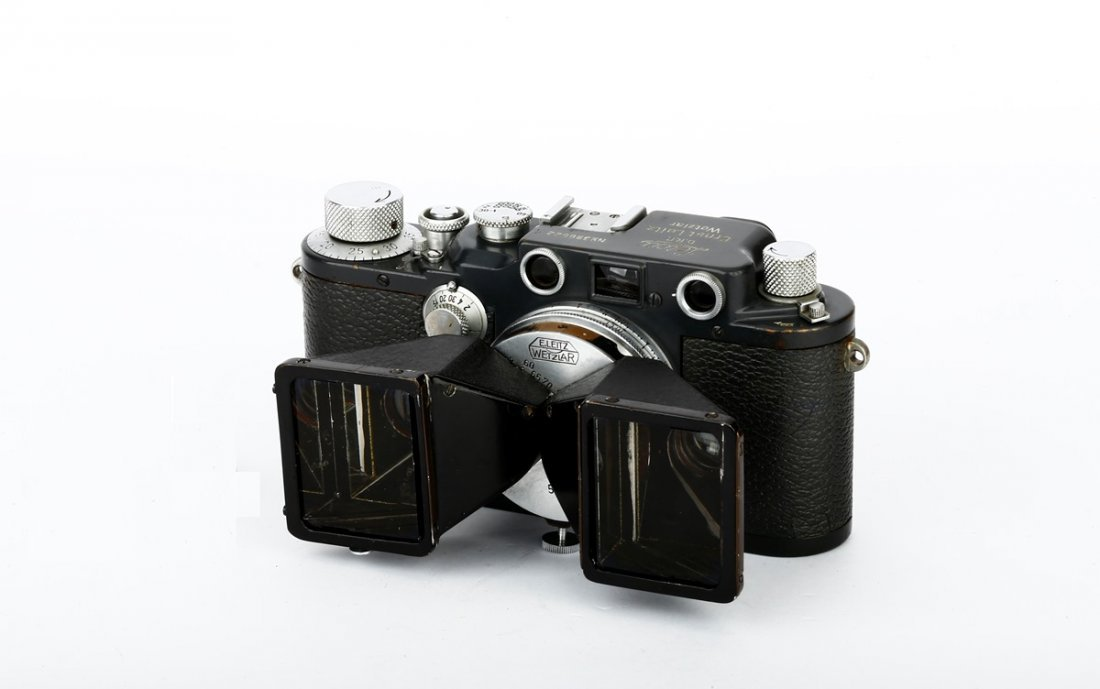 Stereo Elmar 3.5/3.5cm Prototype with IIIcK Grey