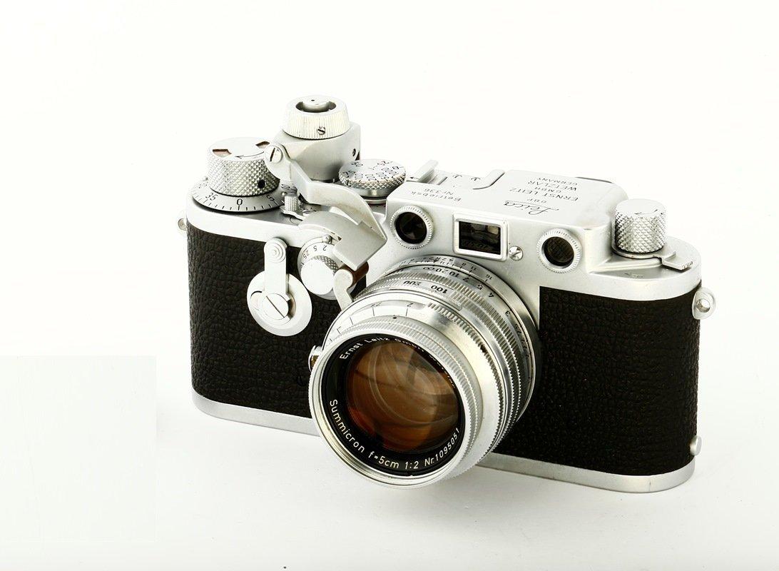 Compur Summicron 2/5cm Prototype with IIIf Betriebsk