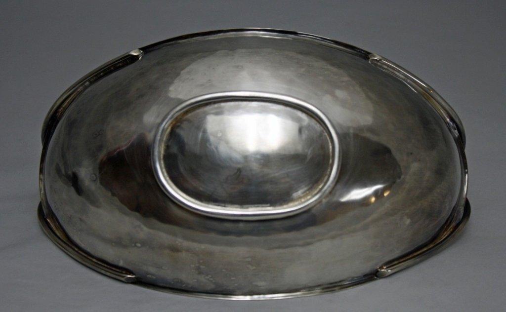 Rare Wellner German Arts & Crafts 830 Silver Bowl - 6