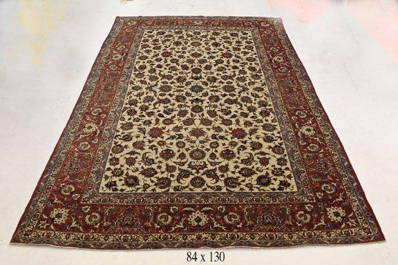 Antique Persian Kashan Rug