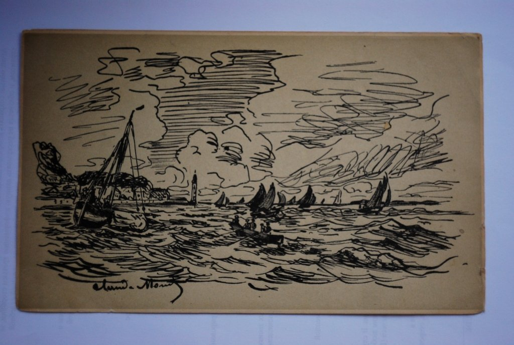Claude Monet  lithograph