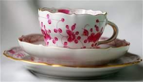 MEISSEN Tea Cup Saucer