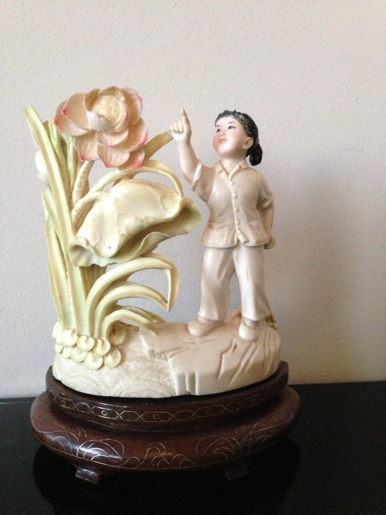 CHINESE IVORY CULTURY REVOLUTION PERIOD