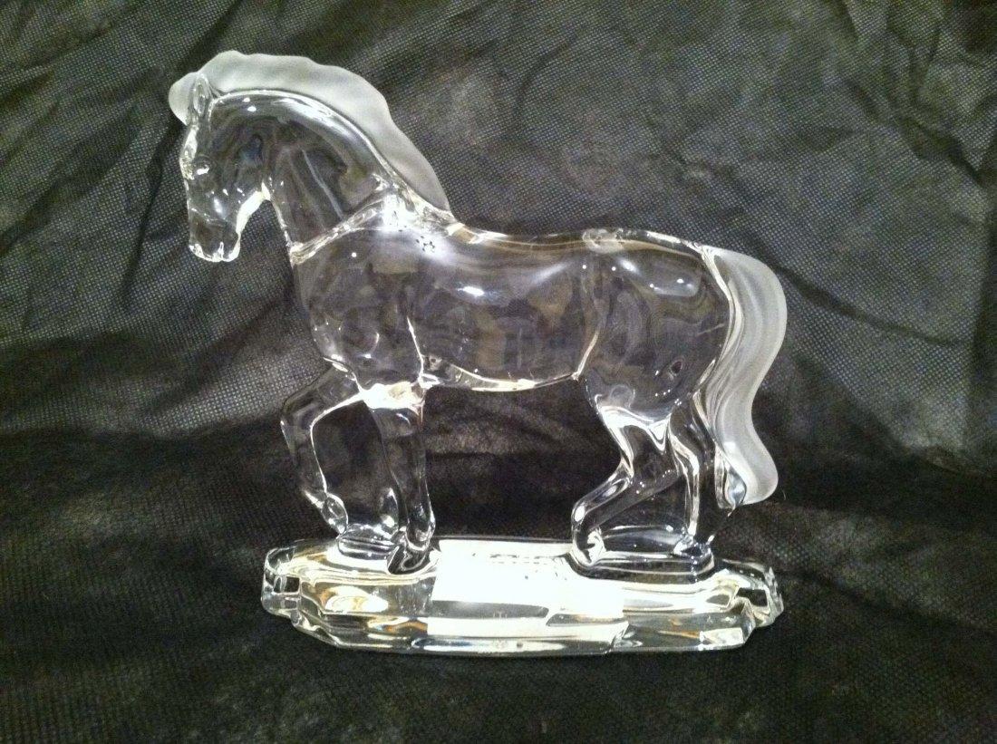 LENOX CRYSTAL HORSE