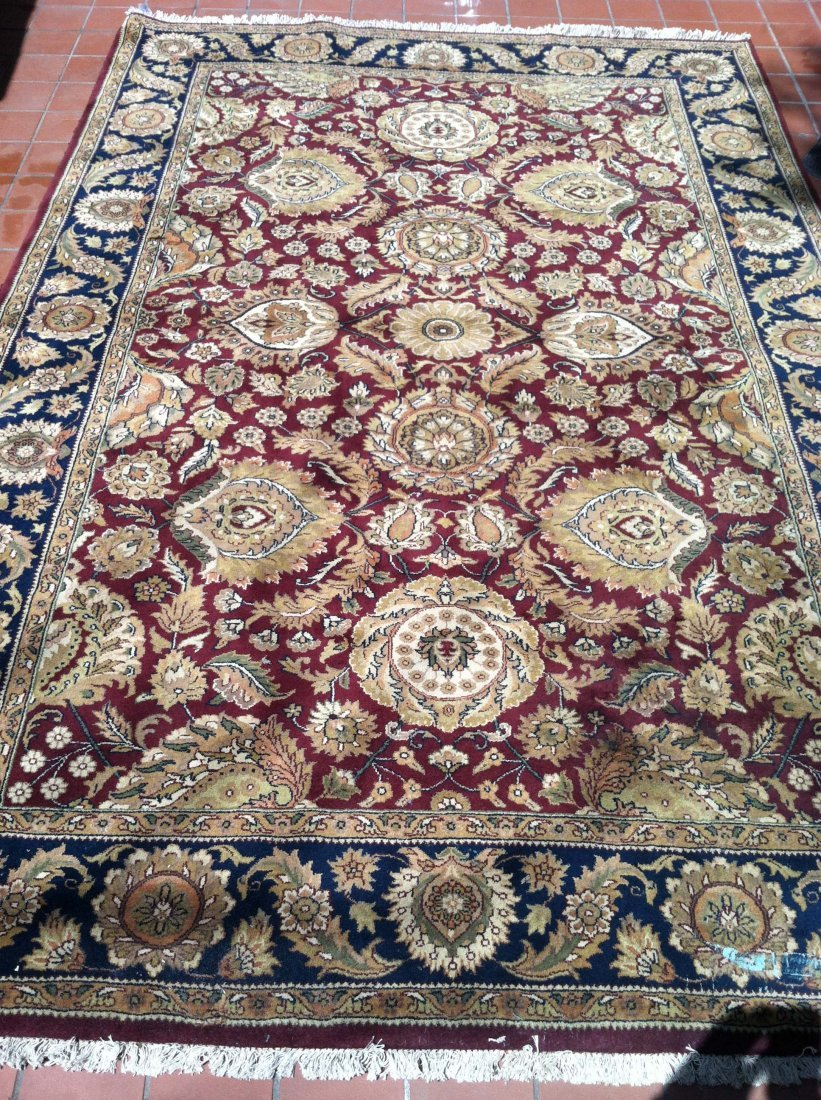 6x9 PERSIAN AREA RUG RED/BLUE