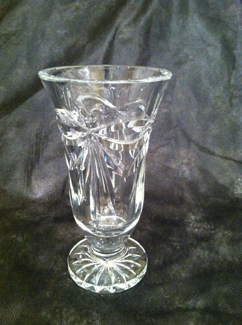 WATERFORD CUT GLASS VASE