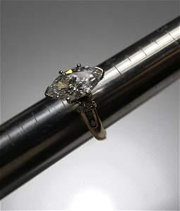 2.17 ct diamond engagement *GIA Cert* 14k gold